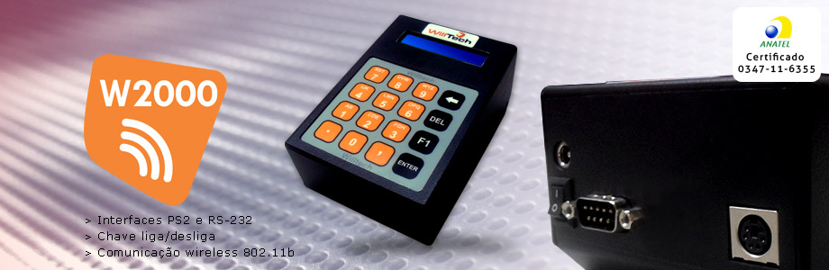Microterminais wireless w2000