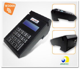 Microterminal 16 teclas W3000 wireless