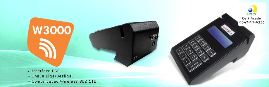 Microterminais wireless w3000