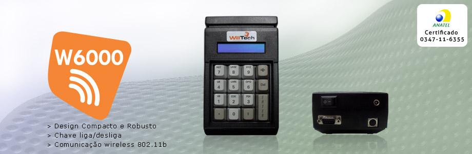 Microterminais wireless w6000