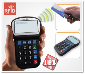 Coletor de Dados Wibox RFID