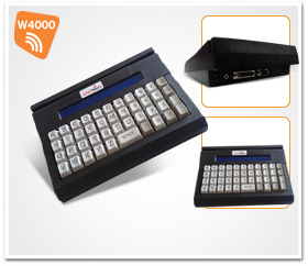 Microterminal 44 Teclas W4000 Wireless